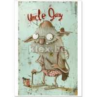 "Kunstdruck ""Uncle Gary"""