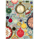 "Deko-Poster ""Clock Collage"""