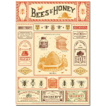 "Deko-Poster ""Bees & Honey"""