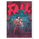"Poster ""The Fall - Zone B"""