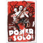"Plakat ""Power Solo"""