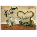 "Kunstdruck ""Breaking Bread"""
