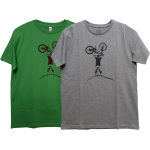 "Siebdruck-T-Shirt ""Bike"""